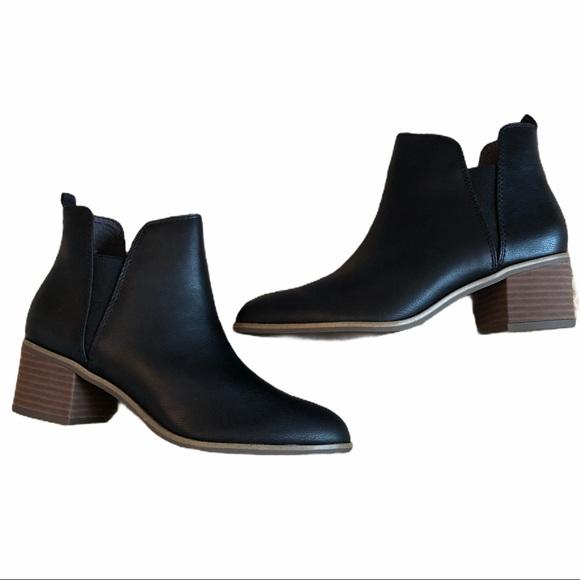 Dr Scholl's 8M Black Ankle Boots